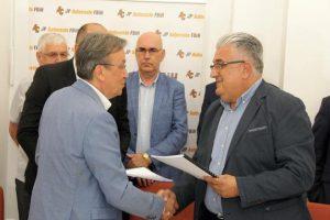 Potpisan Ugovor o Izgradnji Dionice Autoputa na Koridoru Vc, dionica Mostar jug-Počitelj, poddionica