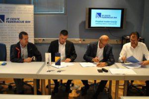 Potpisani ugovori u okviru Modernizacije cestovnog sektora