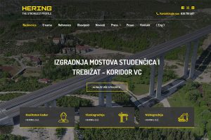 Nove web stranice www.hering.ba