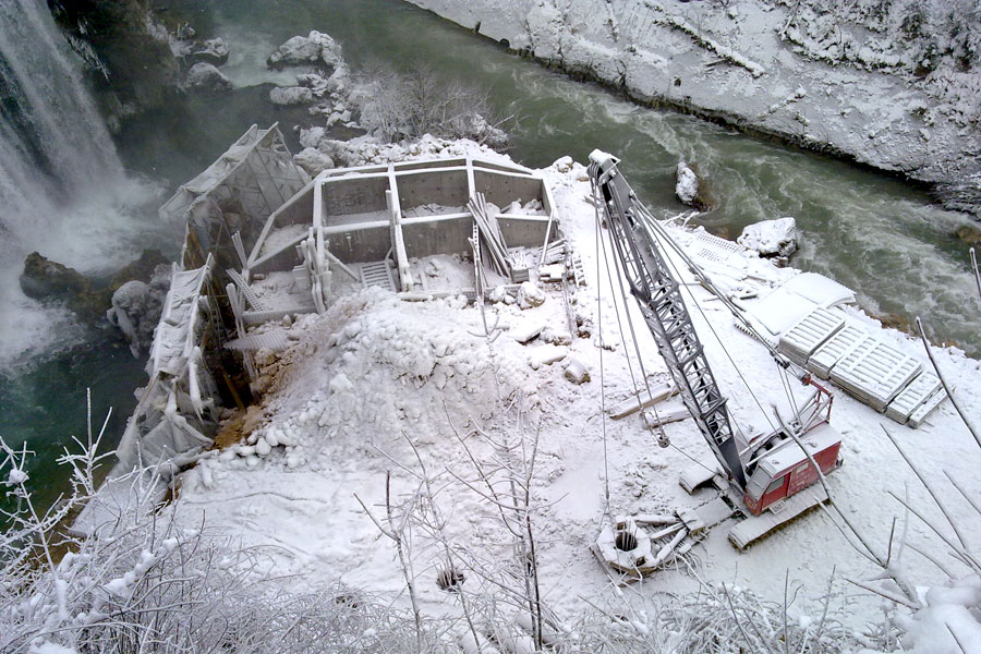 Sanacija vodopada i bučnice rijeke Plive u Jajcu
