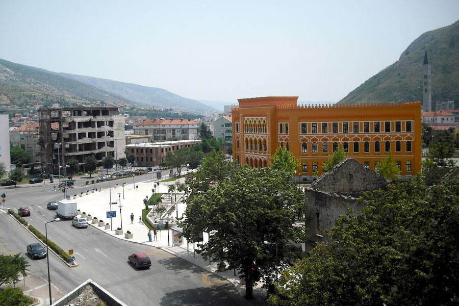 Rekonstrukcija Španjolskog trga u Mostaru